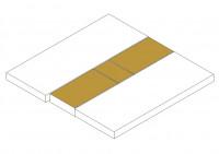 Spannbettlaken Set Mittelteil oben + unten (SA Doppelbett)